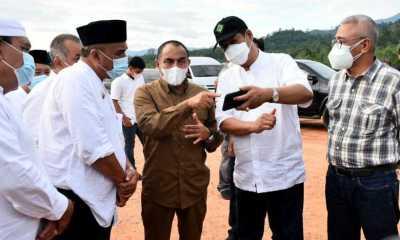 Gubernur Sumut Sebut Bandara Bukit Malintang Rampung di 2023