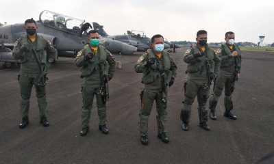 Sembilan Pesawat Tempur Akan Lakukan Misi Latihan Pengeboman di Tanjung Pandan