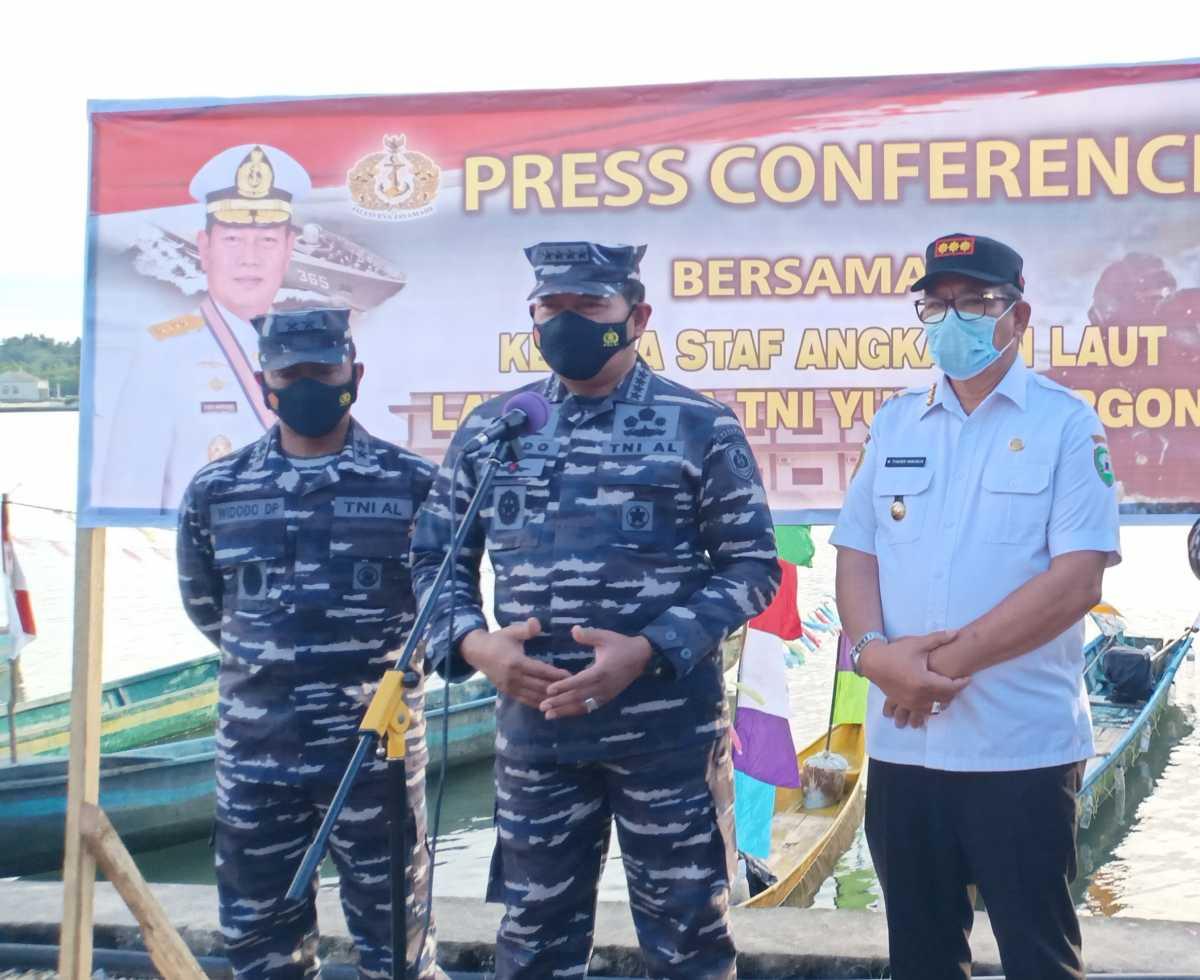 Di Ambon, KASAL Ajak Pemuda Kei Mendaftar Prajurit TNI