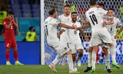 Laga Perdana Euro 2020, Italia Menang Telak Atas Turki