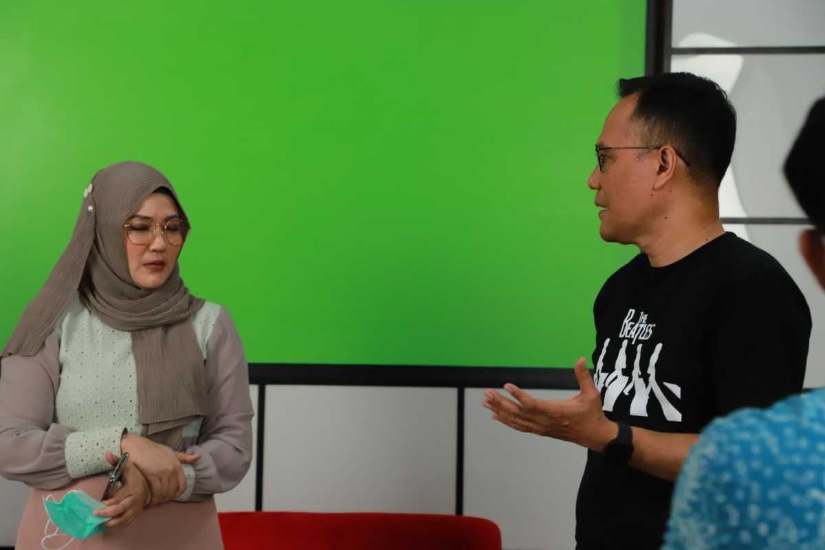 Penggerak JASMEV Dan Relawan Ganti Presiden Bertemu Di Studio Gelora, Bahas Apa Ya?