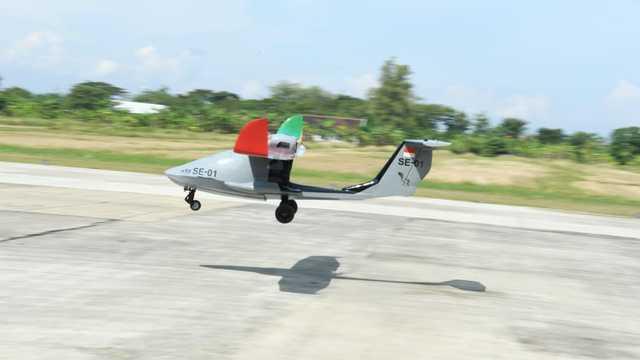 TNI AL Pertajam Kekuatan Pesawat Udara Tanpa Awak