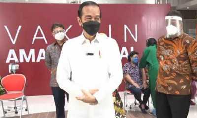 Jokowi Kebut Program Satu Juta Vaksinasi per Hari