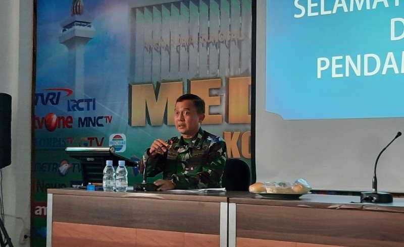 Kodam Jaya Ajak Media Sukseskan Kegiatan TNI Manunggal Membangun Desa