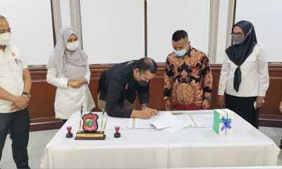 KPU Hibahkan 393 Thermogun Bekas Pakai Ke Pemko Tanjungbalai