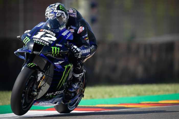 Kualifikasi MotoGP Belanda, Vinales Pole Position