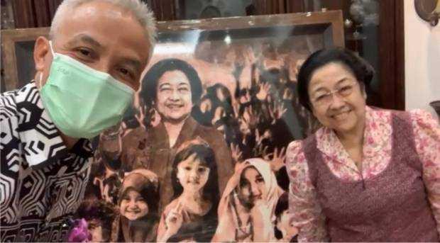 Megawati Dianugerahi Gelar Profesor, Ganjar Pranowo: Sangat layak Dapat gelat itu Karena Banyak Sejarah yang Beliau Lahirkan
