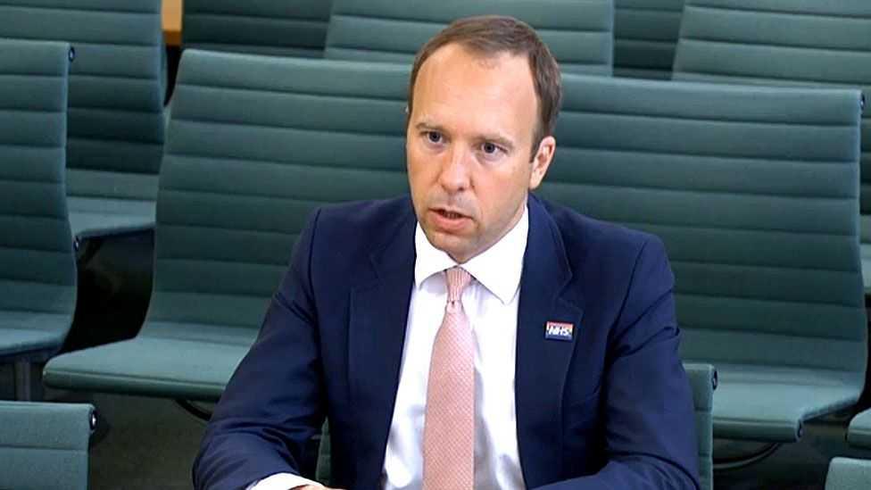 Ketahuan Langgar Prokes, Menteri Kesehatan Inggris Ajukan Pengunduran Diri