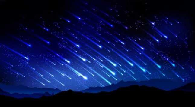 Hari Ini Puncak Hujan Meteor Arietid Dapat Disaksikan