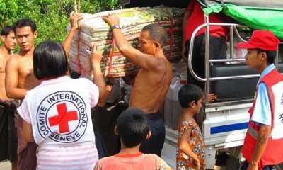 Palang Merah Myanmar Tingkatkan Bantuan untuk Ratusan Ribu Warga