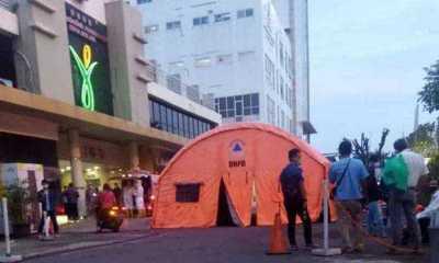 Dalam Hitungan Jam, Tenda Darurat Milik RSUD Kota Bekasi Langsung Terisi