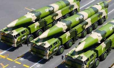 Pasukan Roket China Latihan dengan Rudal Balistik 'Pembunuh Kapal Induk'