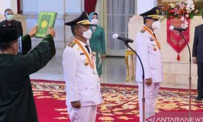 Usai Dilantik Presiden, Gubernur Sulteng Langsung Diminta Tanggulangi COVID-19