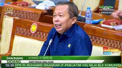 Komisi III DPR RI Apresiasi Kinerja Kejagung Terkait Penanganan Korupsi