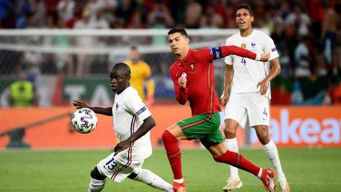 Ronaldo Panen Rekor, Portugal - Prancis Imbang 2-2
