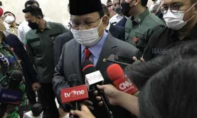 Rapat dengan Komisi I, Prabowo Akui Alutsista Indonesia Sudah Uzur