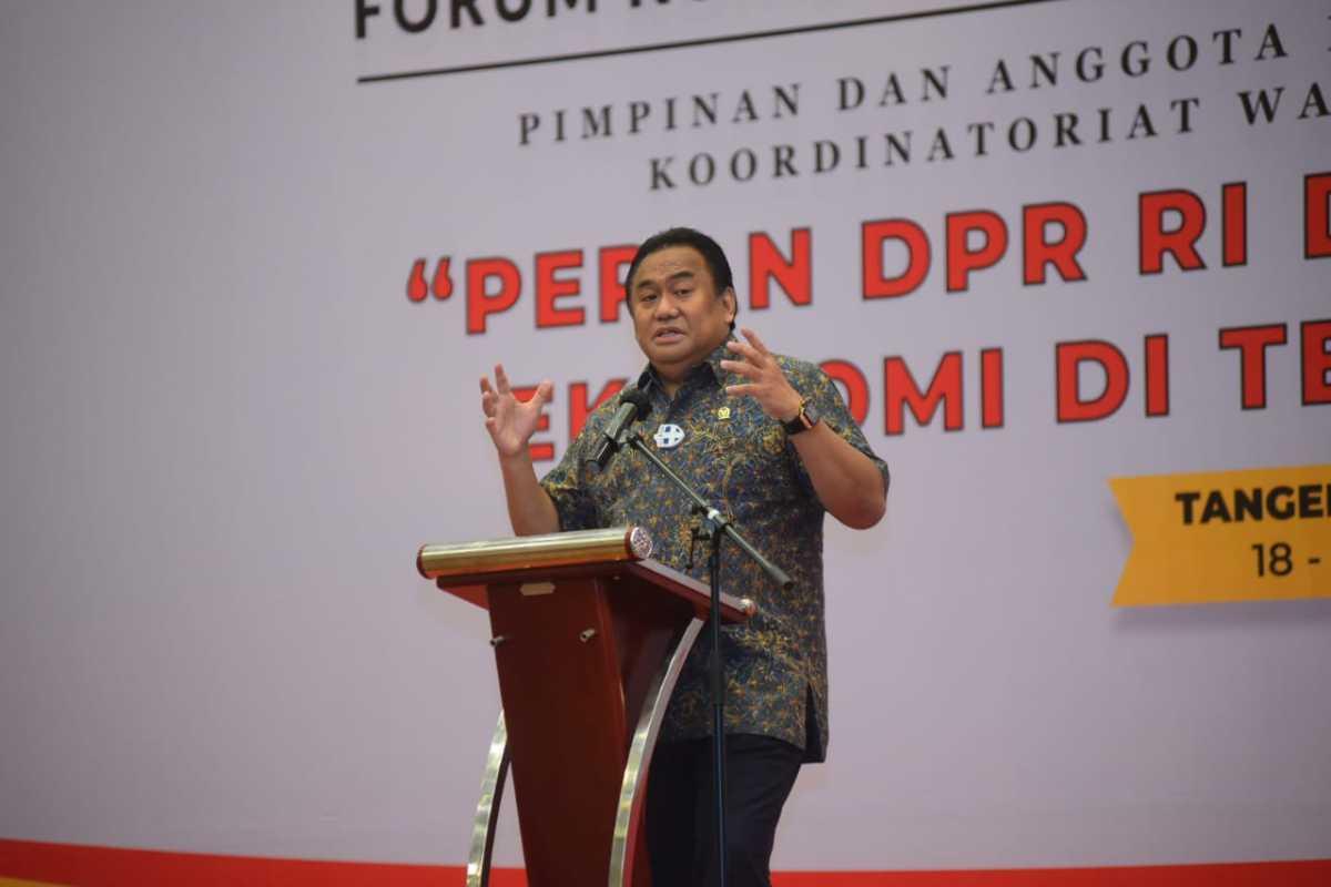 Pimpinan DPR: Pandemi, Momentum Bangkitkan Indonesia Jadi Negara Besar Dunia