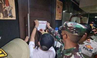 "Operasi Yustisi PPKM Skala Mikro: Polda Metro Segel Bar ""Flow"", Ini Penyebabnya"