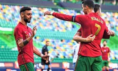 Timnas Portugal Bombardir Israel 4-0