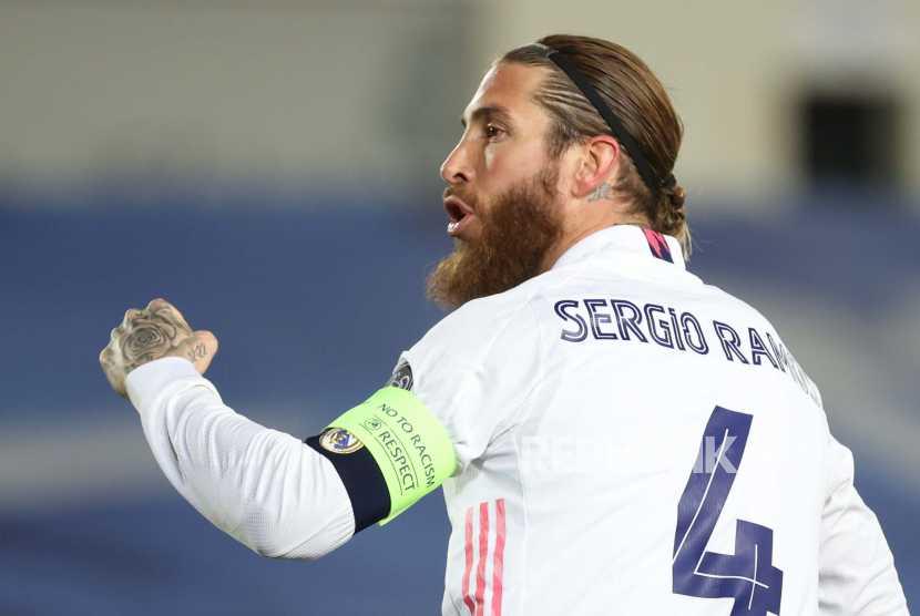 Sergio Ramos Resmi Pisah dari Real Madrid