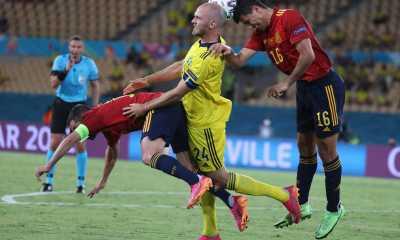 Skor Kacamata Warnai Laga Spanyol Versus Swedia di Euro 2020
