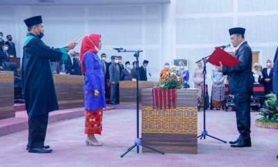 Srikandi Demokrat DPRD Lombok Tengah Resmi Di Lantik, Ratmina Ganti Ahmad Ziadi