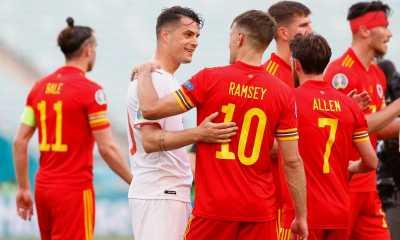 Swiss dan Wales Berbagi Satu Poin di Euro 2020