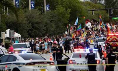 Truk Menabrak Iring iringan Pawai LGBT di Plorida, Satu Orang Tewas