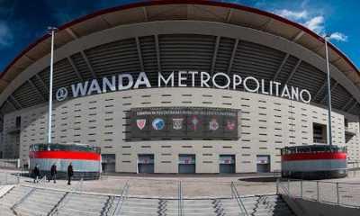 Stadion Bernabeu Masih Direnov, Real Madrid Bakal Pinjam Kandang Atletico untuk Musim Depan