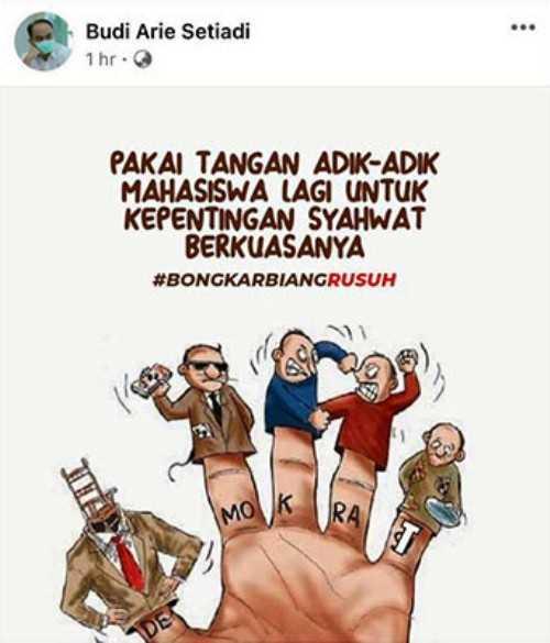 Tidak terima Dituduh Tunggangi Mahasiswa Demo Jokowi, Demokrat Laporkan Wamendes Ke Polisi