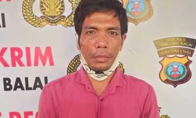 Satu Bulan Jadi DPO, Khairul Fadli Akhirnya Diringkus Sat Reskrim Polres Tanjungbalai