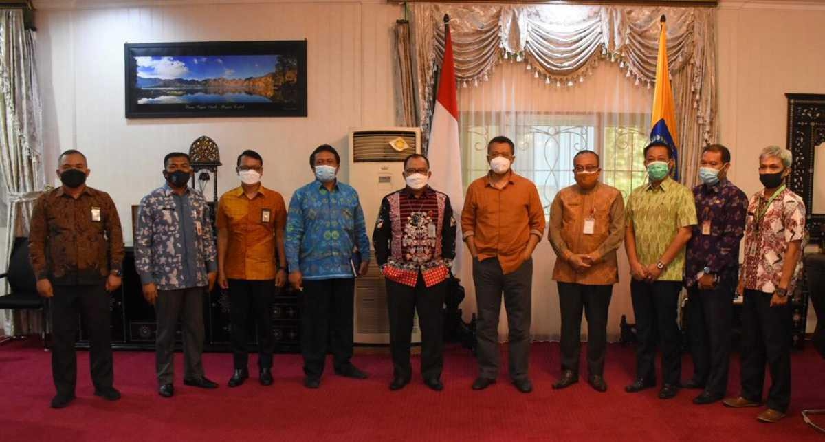 Pejabat Baru BPK RI Perwakilan NTB, Kunjungi Gubernur