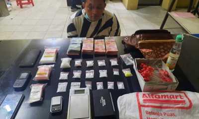 Ringkus Heri Syahputra Sitorus,Polres TanjungbalaiSita Ratusan Gram Narkotika Jenis Sabu, Pil Extasi dan Uang Rp37 Juta Lebih