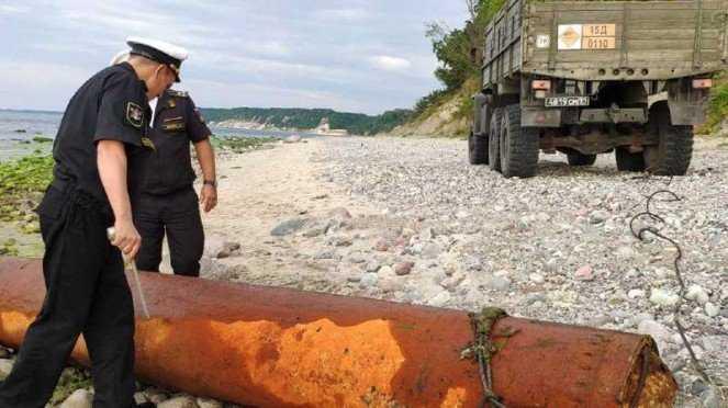Militer Rusia Temukan Harta Pasukan Hitler yang Terkubur Selama 76 Tahun di pasir tepi pantai Kota Kaliningrad
