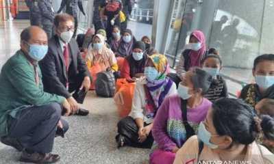 Sempat Mendekam Dipenjara, 63 PMI Non-prosedural Dipulangkan dari Malaysia