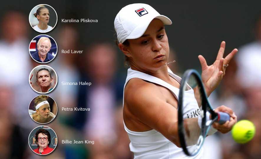 Ashleigh Barty Sabet Juara Tunggal Putri Wimbledon, Begini Komentar Para Sejawat