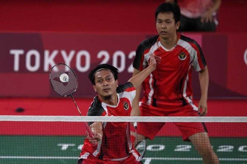 Depak Tuan Rumah, Hendra Setiawan/Mohammad Ahsan Lolos ke Semifinal