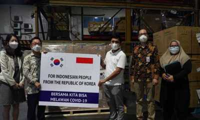 Indonesia Kembali Dapat Bantuan Konsentrator Oksigen dan Ventilator dari Kora Selatan