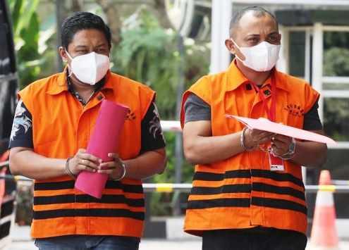 Terkait Kasus Syahrial Walikota Tanjungbalai,Penahanan Pengacara MH Diperpanjang