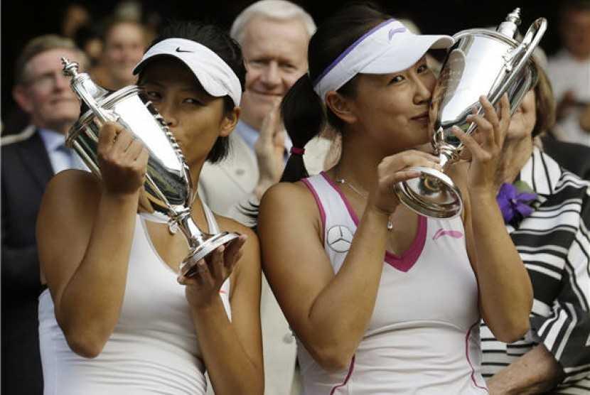 Untuk Ketiga Kalinya, Petenis Putri Taiwan Ini Sabet Gelar Ganda Wimbledon