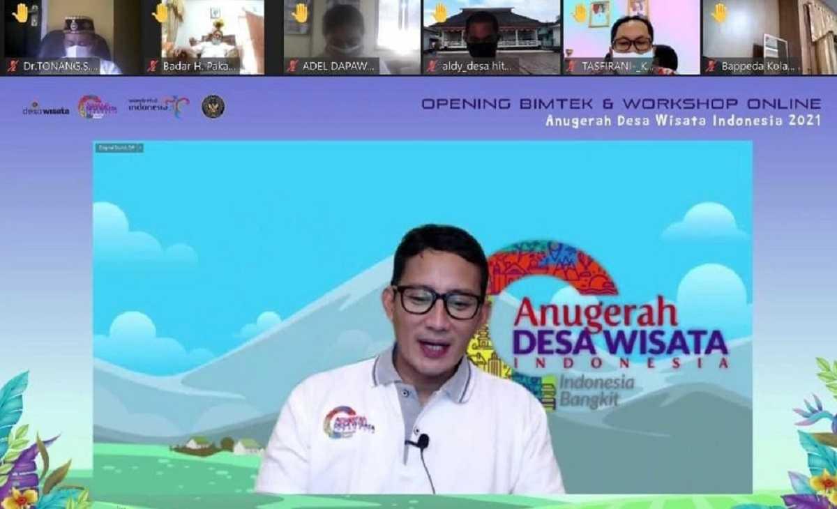 Jumlah Peserta Anugerah Desa Wisata Indonesia Lampaui Target