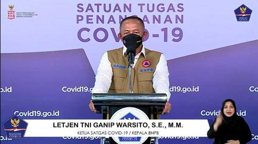 Ganip Warsito Ingatkan Penanganan COVID-19 Hulu Sampai Hilir harus Terintegrasi