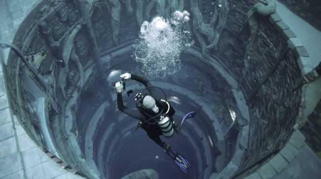Masuk Guiness World Records, Kolam Renang Terdalam di Dunia Dibuka di Dubai