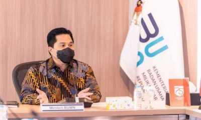 Erick Thohir: 92 Persen Penyaluran KUR Dilakukan Bank BUMN