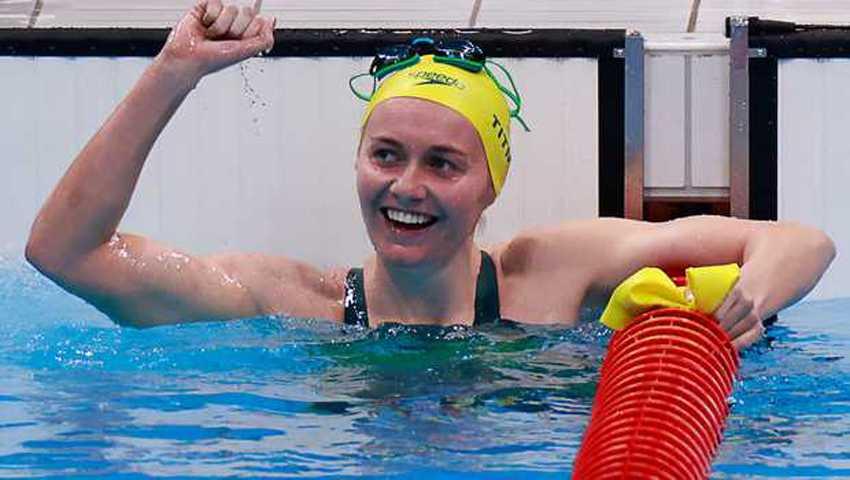 Pecahkan Rekor Olimpiade, Titmus Kembali Sabet Emas Renang 200 Meter Gaya Bebas Putri
