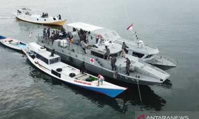 Sediakan Layanan Vaksinasi bagi Nelayan, TNI AL Kerahkan Kapal