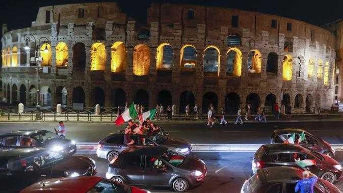 Selebrasi Italia Juara Euro 2020 Akibatkan Satu Tewas dan Beberapa Alami Cedera