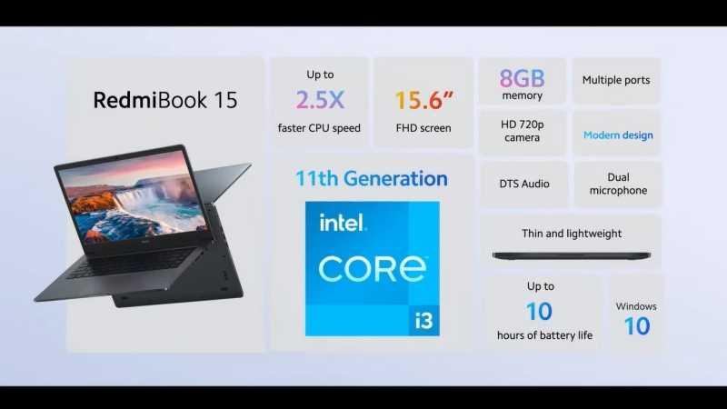 Resmi Diluncurkan di Indonesia, RedmiBook 15 Laptop Spek Mumpuni Harga Terjangkau