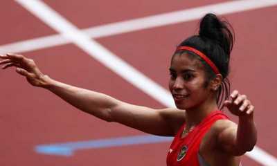 Olimpiade Tokyo - Babak Pertama, Alvin Tehupeiory Finis di Posisi Buncit