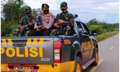 TNI dan Polri Bersinergi Jaga Keamanan Perbatasan RI-PNG